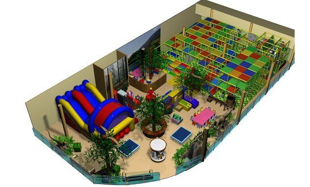 помещение под детский развлекательный центр